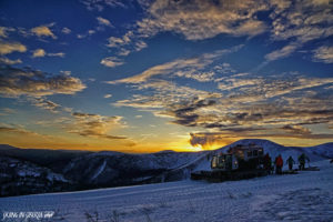skiing-weather-sunset